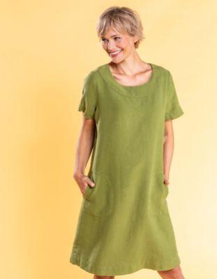 Deerberg Leinen-Kleid Maxime wiese