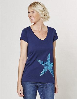 elkline Jersey-Shirt natürlich marine