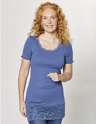 Deerberg Jersey-Long-T-Shirt Mena indigo
