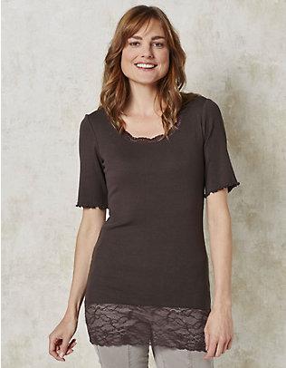 Deerberg Jersey-Long-T-Shirt Mena zartbitter
