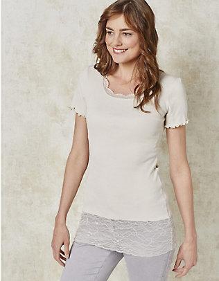 Deerberg Jersey-Long-T-Shirt Mena stein
