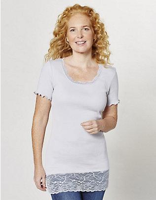 Deerberg Jersey-Long-T-Shirt Mena dampf