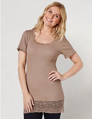 Deerberg Jersey-Long-T-Shirt Mena kiesel