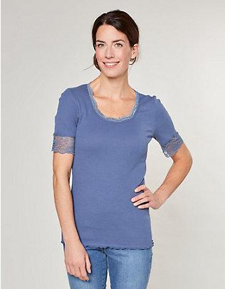 Deerberg Jersey-T-Shirt Kia indigo