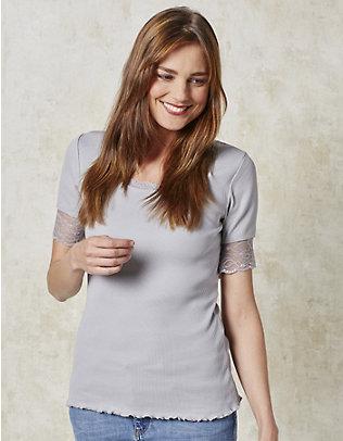 Deerberg Jersey-T-Shirt Kia silbergrau