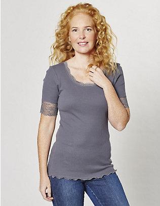Deerberg Jersey-T-Shirt Kia stahlgrau