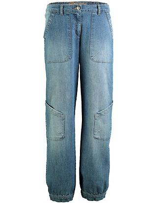 Deerberg Stretch-7/8-Jeans Babette Zwei