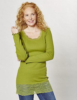 Deerberg Jersey-Longshirt, langarm Bea