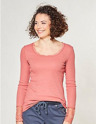 Deerberg Jersey-Shirt, langarm Bala astilbe