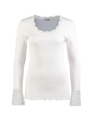 Deerberg Jersey-Shirt Bala cremeweiß