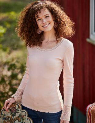 Deerberg Jersey-Shirt Bala rosé