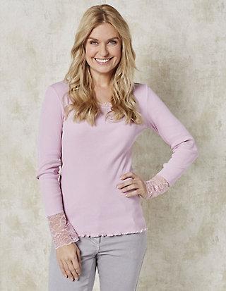 Deerberg Jersey-Shirt, langarm Bala