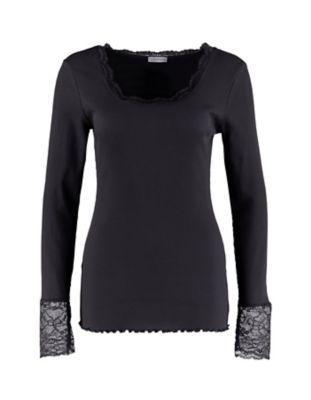Deerberg Jersey-Shirt Bala schwarz