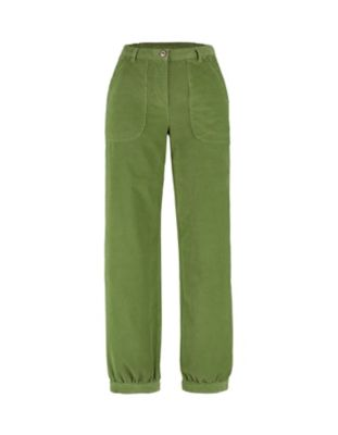 Deerberg Cord-Hose Barke grasgrün