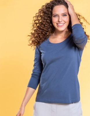 Deerberg Jersey-Shirt Maje indigo