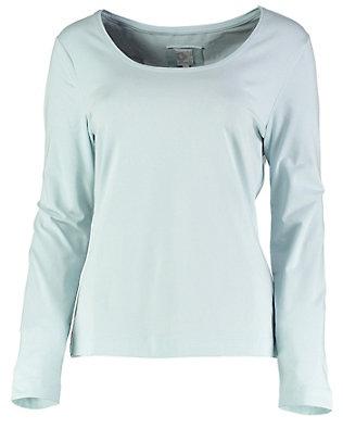 Deerberg Jersey-Shirt, langarm Maje bleu