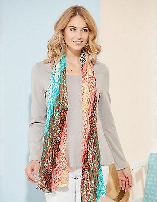Deerberg Jersey-Shirt, langarm Maje opal