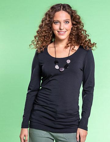 Deerberg Jersey-Shirt Vinja schwarz