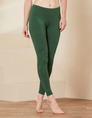 Deerberg Jersey-Leggings Wilma zederngrün
