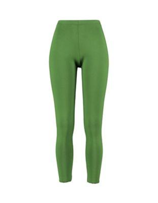 Deerberg Jersey-Leggings Wilma blattgrün