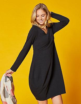 Jersey-Kleid Kiki von Deerberg in schwarz | Deerberg