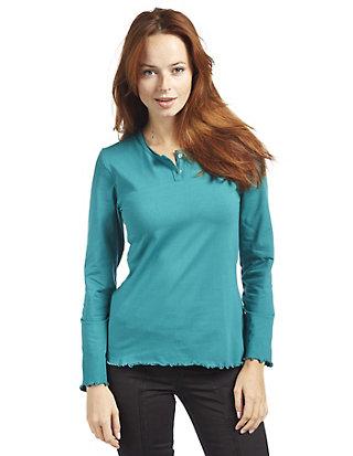 Deerberg Jersey-Shirt, langarm Vesla