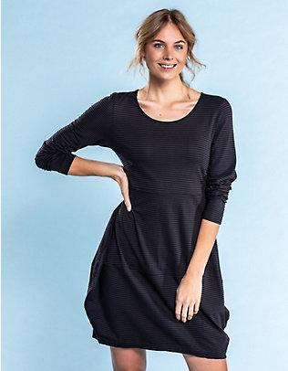 Deerberg Jersey-Kleid Prisca schwarz