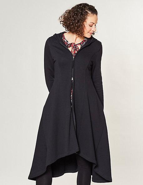 jersey mantel fenja von deerberg in schwarz deerberg. Black Bedroom Furniture Sets. Home Design Ideas