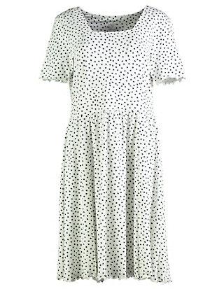 Deerberg Jersey-Druck-Kleid Renata