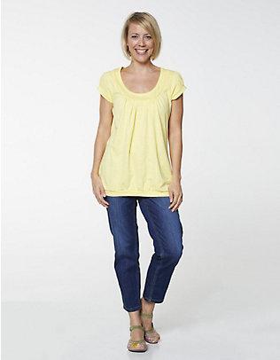 Deerberg Jersey-Shirt Amanda sonnengelb