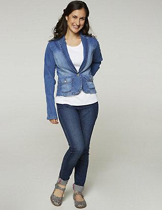Deerberg Jeans-Blazer Makira