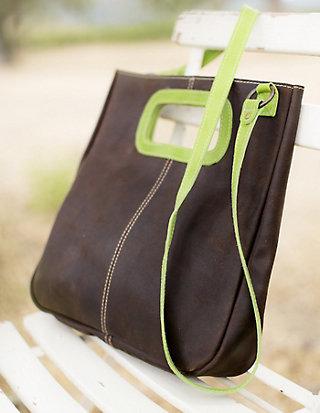 Leder-Tasche Julia