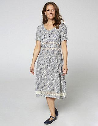 Deerberg Druck-Kleid Sinja
