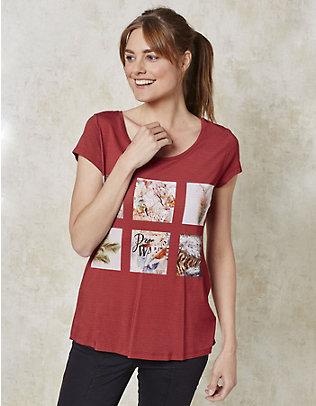 Deerberg Jersey-Shirt Isabell ziegel
