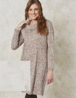 Deerberg Jacquard-Jersey-Kleid Dilara