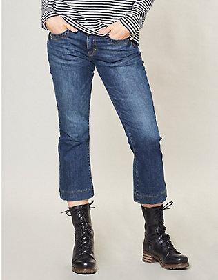 Deerberg Stretch-3/4-Jeans Elva dark-denim