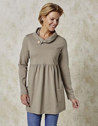 Deerberg Jersey-Longshirt, langarm Odina