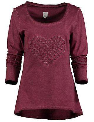 Deerberg Jersey-Longshirt, langarm Florine