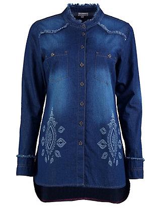 Deerberg Jeans-Hemd Elice