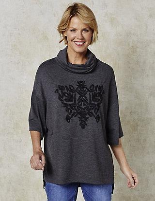 Deerberg Jersey-Oversized-Shirt Shirin