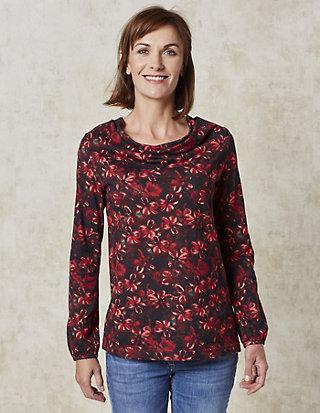 Deerberg Jersey-Shirt, langarm Elnea