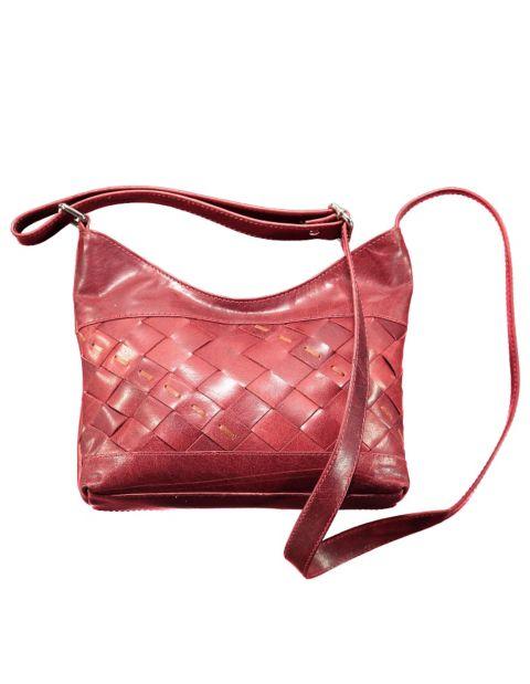 Leder-Tasche Talita, Rot
