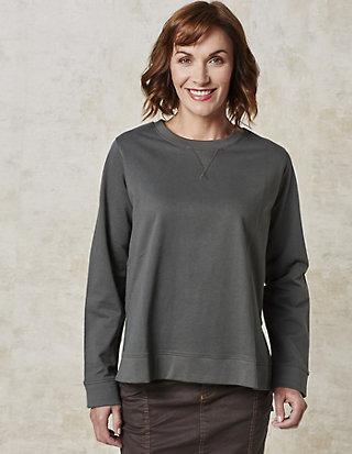 Deerberg Baumwoll-Sweatshirt Hiralia