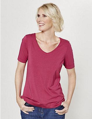 Deerberg Jersey-T-Shirt Dana cranberry