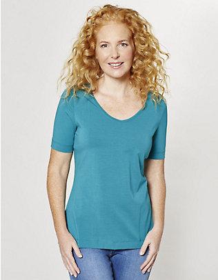 Deerberg Jersey-T-Shirt Dana tiefsee