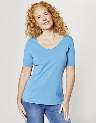 Deerberg Jersey-T-Shirt Dana meerblau