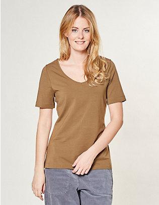 Deerberg Jersey-T-Shirt Dana khakibraun