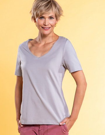 Deerberg Jersey-Shirt Dana opal