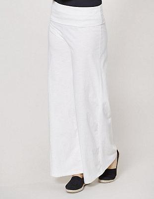 Verkauf Der Billigsten Damen Jersey-Hose Tilla Weiß - auch in Übergrößen Deerberg Auslass Heißen Verkauf Niedriger Preis Günstig Online W3gfgVDs