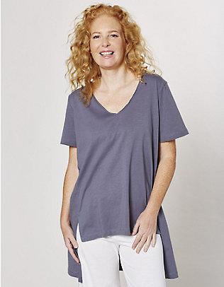 Deerberg Jersey-Shirt Nora stahlgrau